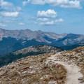 Never Summer Mountains.- Peak 12,150 Hike