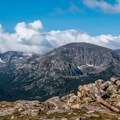 Marvelous views of the Rocky Mountain National Park high country.- Ute Trail Hike to Timberline Pass