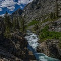 South Fork of the San Joaquin River.- John Muir Trail Section 3