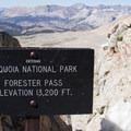 Forester Pass.- John Muir Trail Section 4