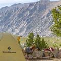 Camping below Forester Pass.- John Muir Trail Section 4