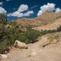 This is the turnoff for Joe's Ridge.- 18 Road Mountain Bike Trails: Joe's Ridge