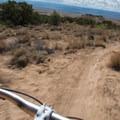 Fun racing down the straights.- 18 Road Mountain Bike Trails: Joe's Ridge