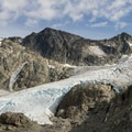 Wedgemount Glacier.- Wedgemount Lake Hike