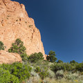 View of North Gateway Rock at Garden of the Gods.- Garden of the Gods National Natural Landmark