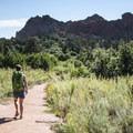Palmer Trail, Garden of the Gods.- Palmer Trail