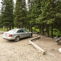 ADA-accessible campsites at Buckingham Campground.- Buckingham Campground