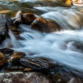 Many opportunities for water photography at The Pool.- The Pool + Cub Lake Loop Hike