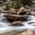 Copeland Falls.- Ouzel Falls Hike