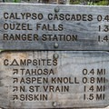 There are many backcountry campsites along a parallel trail.- Ouzel Falls Hike