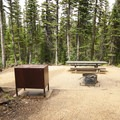 Walk-in campsite at Pawnee Campground.- Pawnee Campground