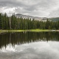 View looking north from Brainard Lake.- Brainard Lake Recreation Area