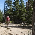 Hiking on the Lily Mountain Trail.- Lily Mountain Hike