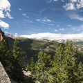 View along the ridgeline of Lily Mountain.- Lily Mountain Hike