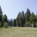 Baseball field at Spruces Campground.  - Spruces Campground
