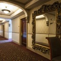 Upstairs hallway at the Stanley Hotel.- Stanley Hotel