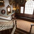 Main stairway at the Stanley Hotel.- Stanley Hotel