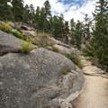 Gem Lake Trail.- Gem Lake Hike via Lumpy Ridge Trailhead
