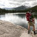 View south from Bear Lake, Rocky Mountain National Park.- Bear Lake Loop Hike