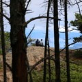 One of many viewpoints near the summit. - Orcas Island: Cold Springs Trail to Mount Constitution Summit