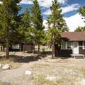 Ranger station and residence at Glacier Basin Campground.- Glacier Basin Campground
