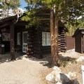 Ranger station at Glacier Basin Campground.- Glacier Basin Campground