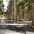 Glacier Basin Campground, Loop B.- Glacier Basin Campground