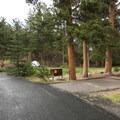 Aspenglen Campground, A Loop.- Aspenglen Campground
