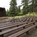 Amphitheater at Aspenglen Campground.- Aspenglen Campground
