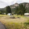 Aspenglen Campground, C Loop.- Aspenglen Campground