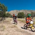 Families abound on this trail.- 18 Road Mountain Bike Trails: Kessel Run