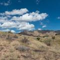 View near the end of Kessel Run.- 18 Road Mountain Bike Trails: Kessel Run