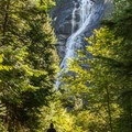 Approaching the Shannon Falls lookout.- Shannon Falls Provincial Park