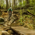 Lots of thrills on the way down.- Mount Seymour Trails: Lower Mountain Loop