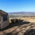 Great views from the Hollyridge Trail.- Hollywood Sign via Hollyridge Trail