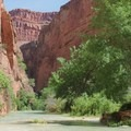 The hike to Beaver Falls is about 3 miles from Mooney Falls.- Mooney + Beaver Falls Hike from Supai