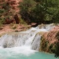 Beaver Falls.- Mooney + Beaver Falls Hike from Supai