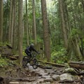 Downhill thrills right to the end of the Baden Powell Trail.- Mount Fromme Trails: Expresso + Baden Powell