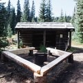 Backcountry shelter near Poland Lake. - Poland Lake Hike