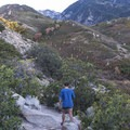 Heading out on a Sunday morning stroll.- Bells Canyon Trail Hike