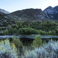 Lone Peak is to the far right, one of the taller peaks in the Wasatch at 11,253 feet.- Bells Canyon Trail Hike