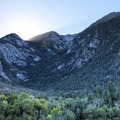 The Bell Canyon cirque hides a pair of waterfalls that are worth checking out if you are looking for more of a challenge.- Bells Canyon Trail Hike