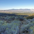 Looking southwest toward Sandy and Draper in the Salt Lake Valley. The Oquirrh Mountains are in the distance.- Bells Canyon Trail Hike