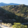 Hiking on the Bell's Canyon Trail.- Bells Canyon Trail Hike