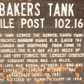 A brief history of the Bakers Tank.- Bakers Tank Mountain Bike Ride