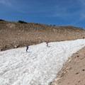 Bumpy ride down the glacier.- Saint Mary's Glacier + Saint Mary's Lake