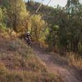 Dirt doubles.- Road to Arcylon Freeride Mountain Bike Trail