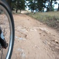 Speed is your friend on this trail.- Betasso Preserve Loop Mountain Bike Ride