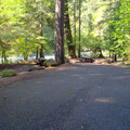 Double campsite in Eagle Rock Campground.- Eagle Rock Campground