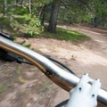 Racing around West Magnolia is great fun.- West Magnolia Mountain Bike Loop